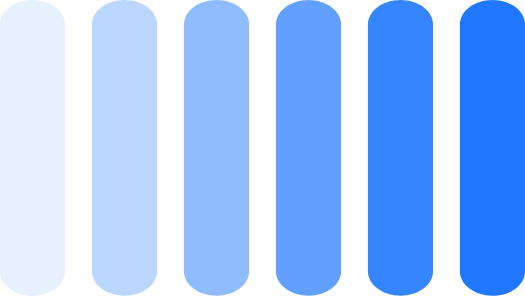 EV Charging Points Graphic (Vertical lines with different shades of blue)